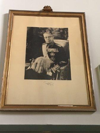 Grythyttan, Suecia: Gustav den 5te Adolf, King of Sweden in the 60's
