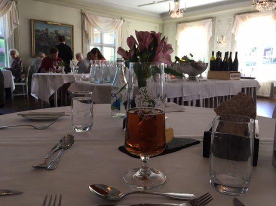 Grythyttan, Suecia: Small restaurant, the big one was used for a wedding
