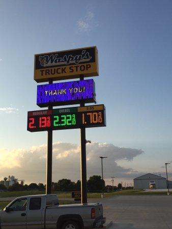 Templeton Iowa Map.Waspy S Truck Stop Templeton Restaurant Reviews Photos