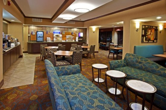 Holiday Inn Express Northwest-Park 100 : Dining Lounge makes Holiday Inn Express more than a basic hotel
