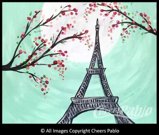 "Coon Rapids, MN: Another Iconic image-""Moonlit Paris"""