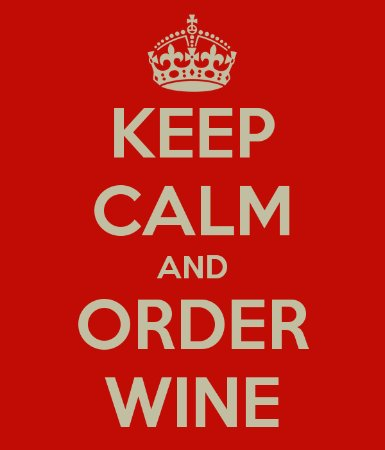 """Coon Rapids, MN: We just have 1 rule in our studio and it's """"Keep Calm and Order Wine"""""""