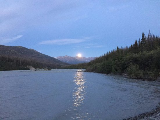 McCarthy, AK: The view from my tent.