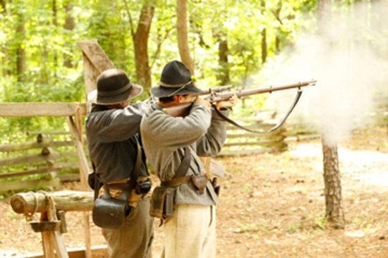 ปีเตอร์เบิร์ก, เวอร์จิเนีย: Enjoy Pamplin Park's Historical Rifle Demonstration