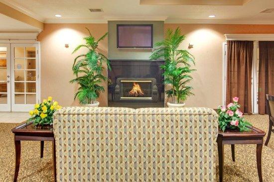 Delano, Californië: Hotel Lobby