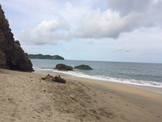 Sayulita, Messico: vue de la plage