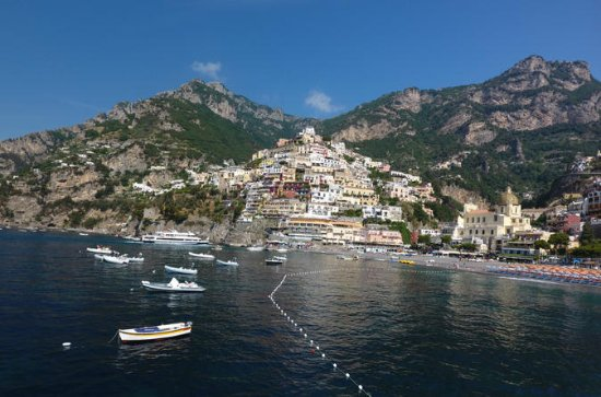 Capri to Amalfi Coast Private Boat ...