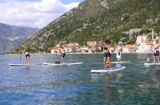Stand-Up-Paddle Board at Bay of Kotor...