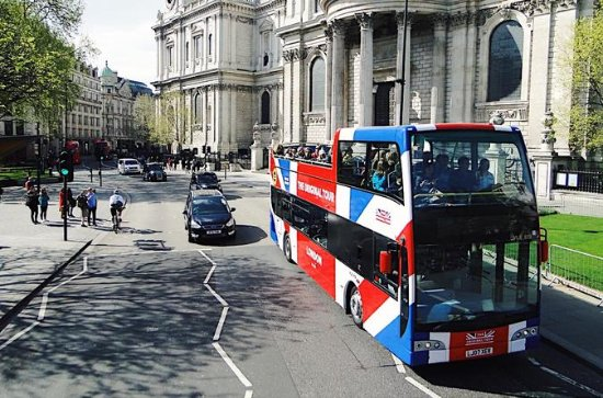 London Combo: Hop-On Hop-Off Tour og...