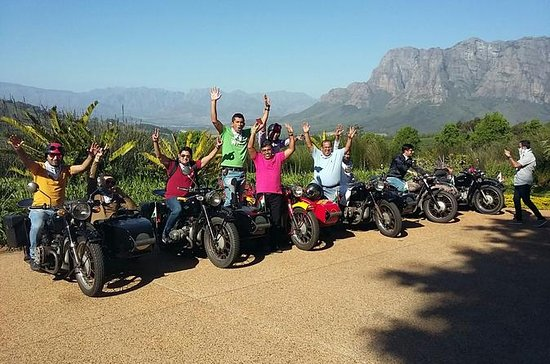 Full-Day Cape Winelands Sidecar Experience from Cape Town