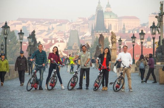 Prague Small-Group Electric Scooter...
