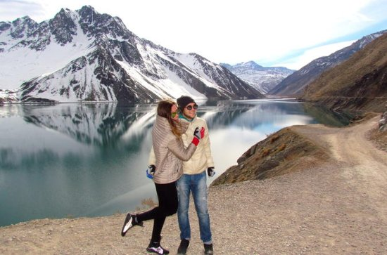 Privat Andes dagstur El Yeso Lagoon ...