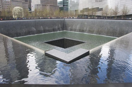 9/11 Memorial at World Trade Center...