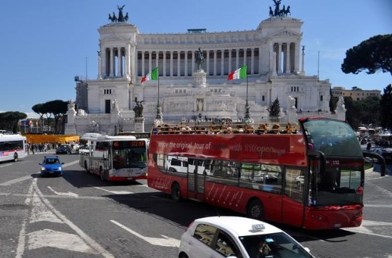 Rome Hop-on Hop-off Bus with ...
