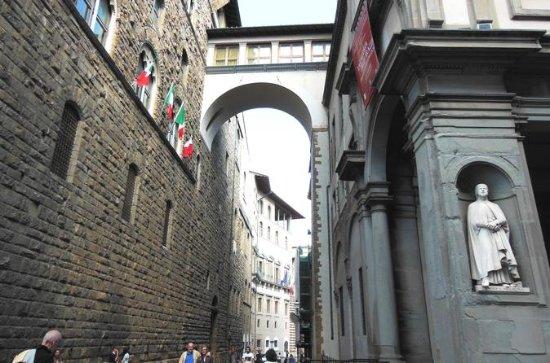 Palazzo Vecchio, Uffizi Gallery, Vasari Corridor in Florence