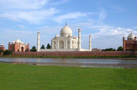 Privat dagstur til Taj Mahal Agra fra...