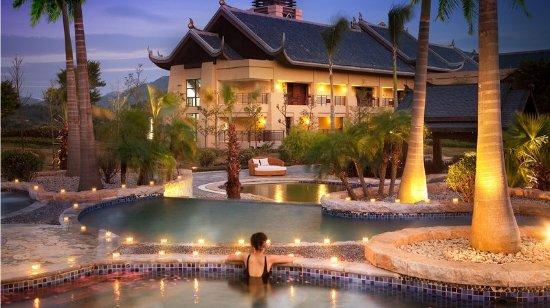 Huizhou, Chine : Hot Spring Pool