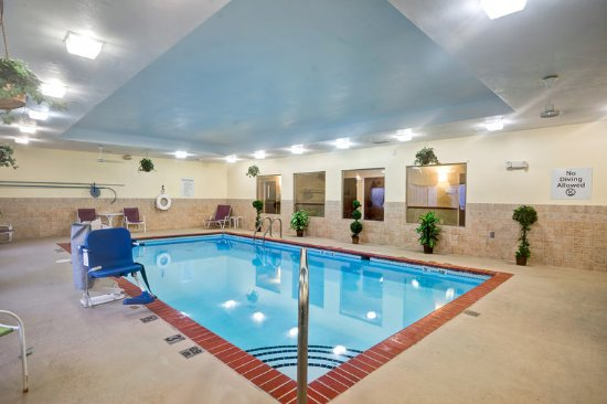 Christiansburg, VA: Take a dip in our indoor pool.
