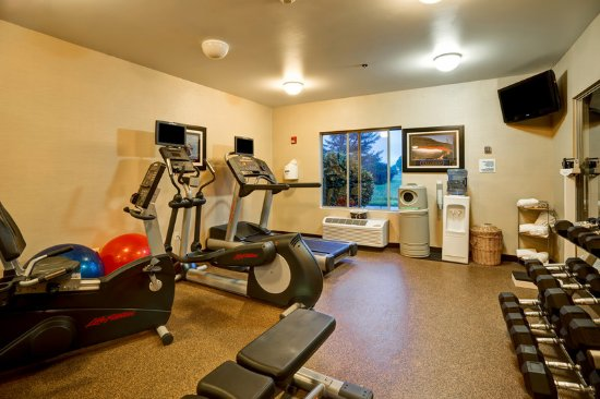 Christiansburg, VA: Get your workout in while on the road.