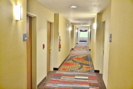 Monaca, Πενσυλβάνια: Hallway