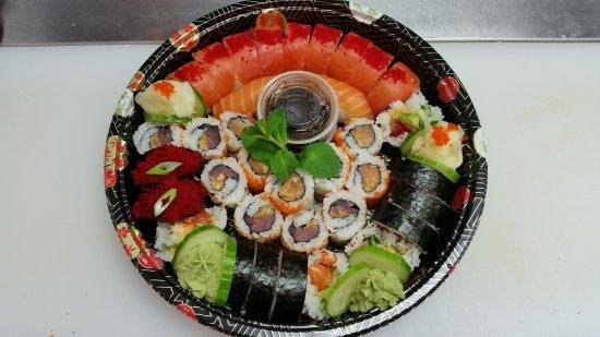 Bromont, Canada: Ikura Sushi