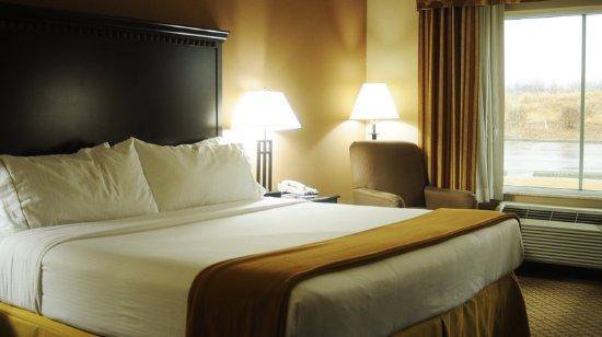 Sedalia, MO: Single Bed Guest Room