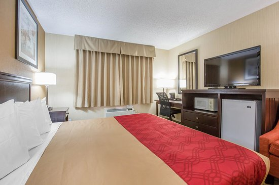 Taber, Canada: Guest room with flat-screen television