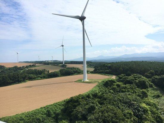 Fukaura-machi, Japan: 展望台より