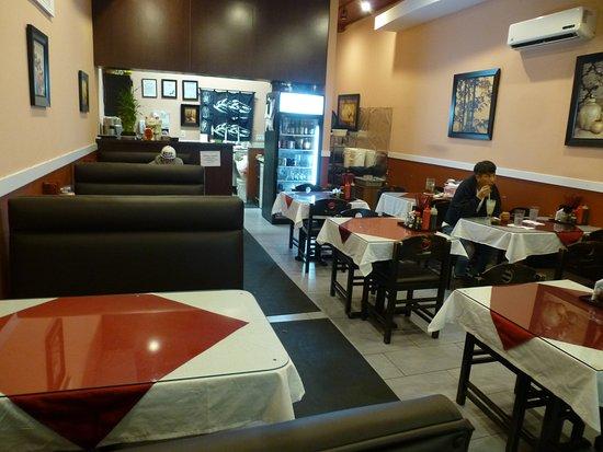 New Westminster, Kanada: Inside the restaurant