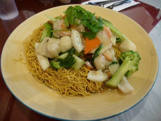 New Westminster, Kanada: The seafood chow mein