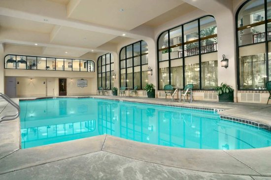 ‪‪Arcadia‬, كاليفورنيا: Indoor Swimming Pool‬
