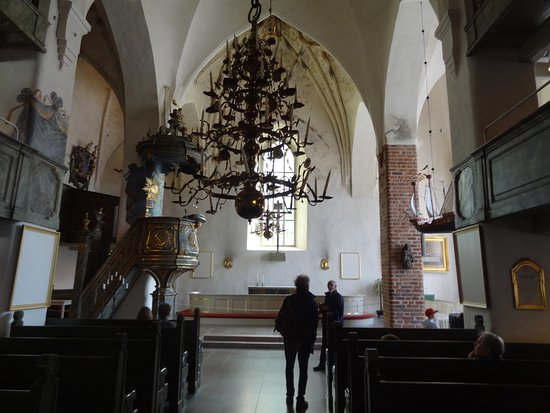 Porvoo, Finland: Interior of the cathedral