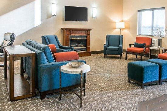 Bluffton, OH: Hotel lobby