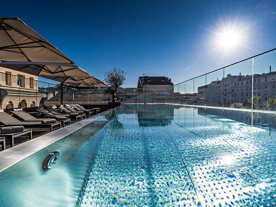 Five Seas Hotel Cannes: Pool