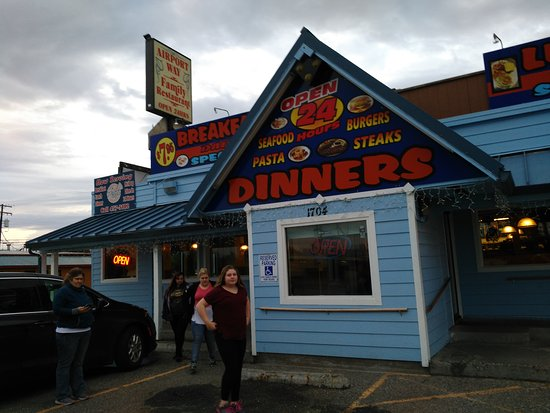 Airport Way Family Resturant Fairbanks Restaurant Reviews
