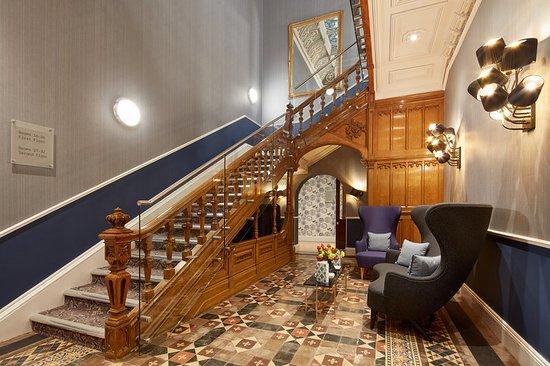 Cheadle, UK: Stairway