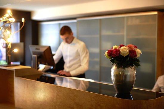 Hotel Helmhaus: Reception