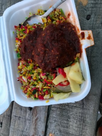 Gaya Street Sunday Market: food