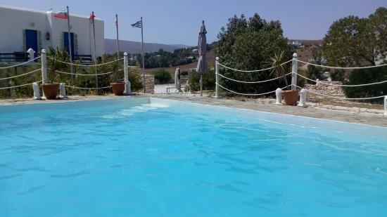 Piso Livadi, Grecia: The pool