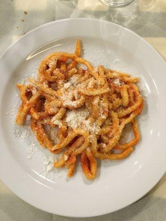 Pontinia, Italien: Primo piatto