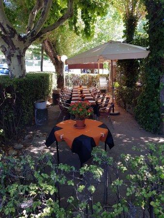 Manzanares el Real, Spanje: Terraza - Jardín
