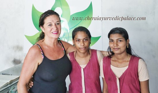 Cherai Ayurvedic Palace: Our guest Maria from Spain