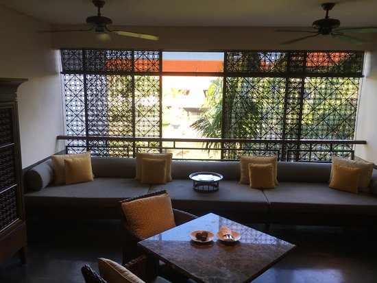 Our Balinese Style Living Room Overlooking The Gardens