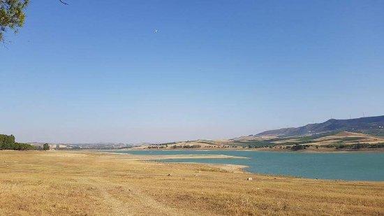 Partinico, Italy: Lago Poma o Diga Jato