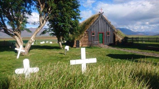 Varmahlid, İzlanda: Víðimýrarkirkja Church