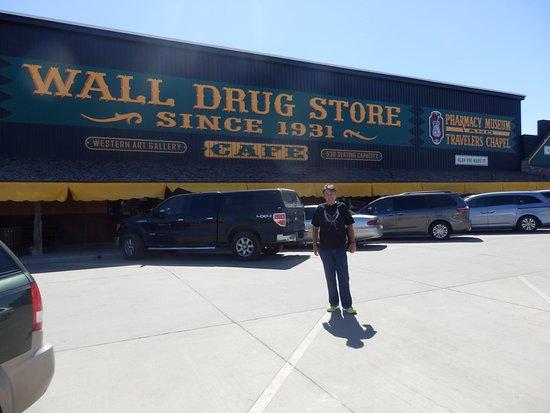 Wall Drug: Main Street Wall