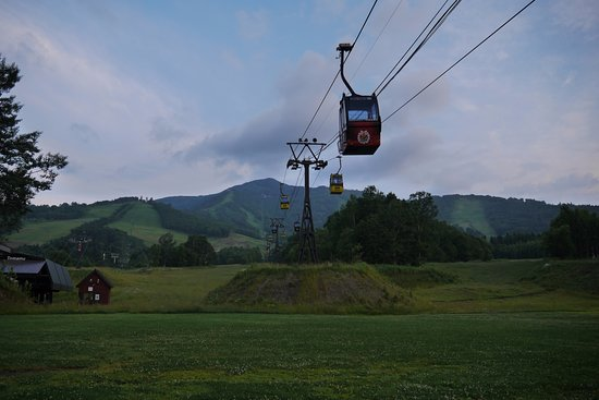Shimukappu-mura, Japón: The gondola at the base station