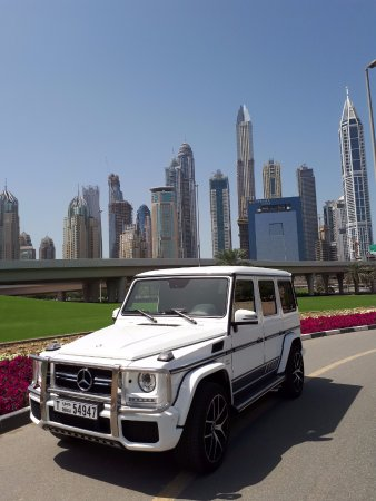 E And S Luxury Car Rental Mercedes G63 Picture Of Dubai Emirate