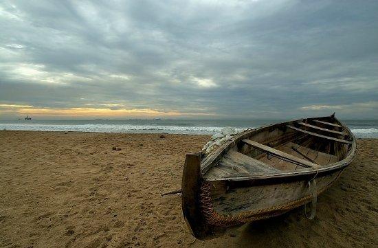 Yarada Beach : Yarada View from Shore