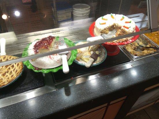 Sumter, Южная Каролина: Buffet desserts